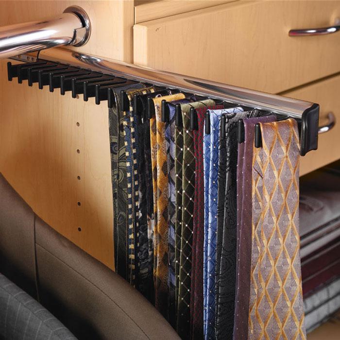 Как хранить галстуки