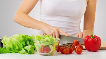 Овощи - здоровое питание