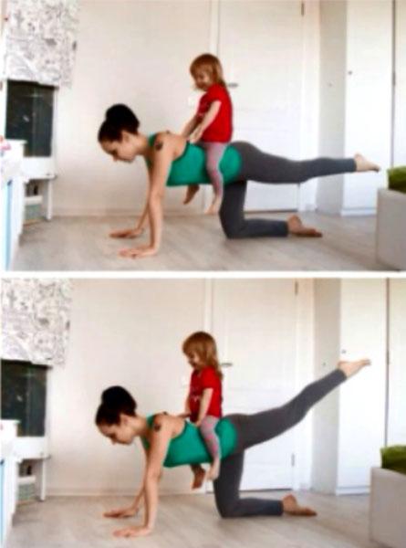 Махи ногами упражнение