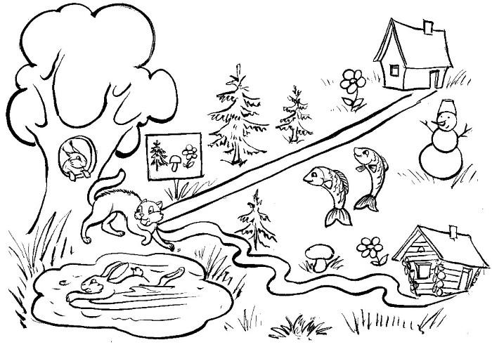 иллюстрации к небылицы