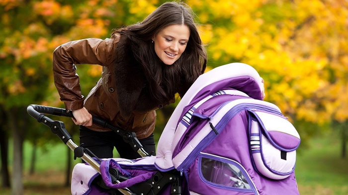 Прогулки с новорожденным