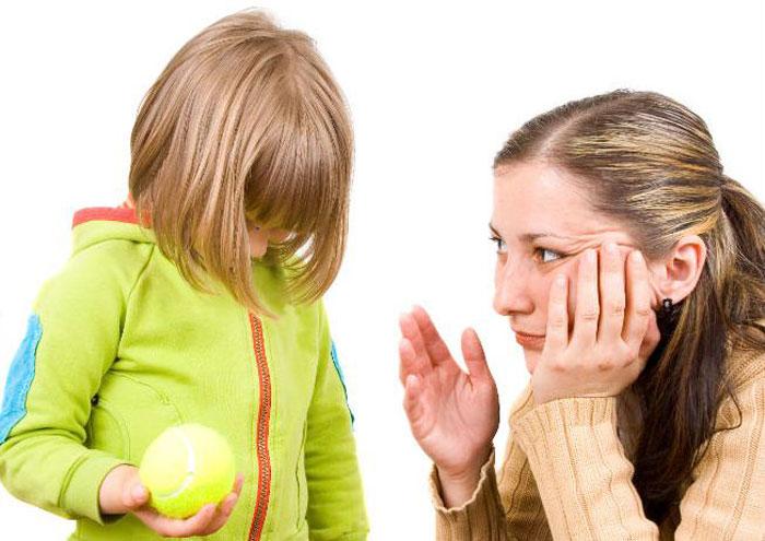 Ребенок требует внимания